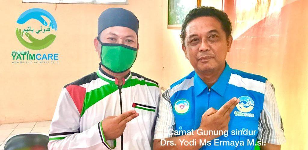 Camat Gunung sindur Drs. Yodi Ms Ermaya M.si.