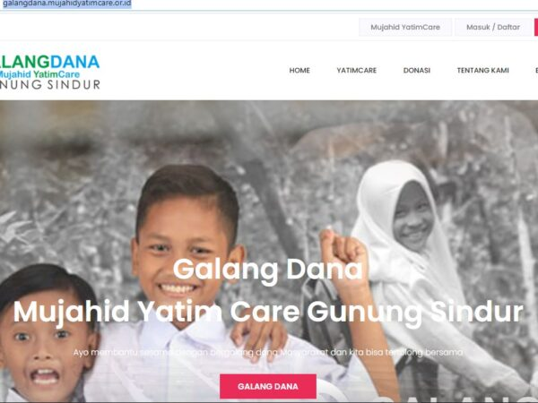 Aplikasi Galang Dana Mujahid YatimCare
